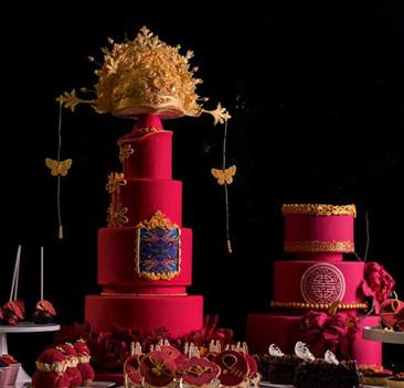 翻糖艺术蛋糕